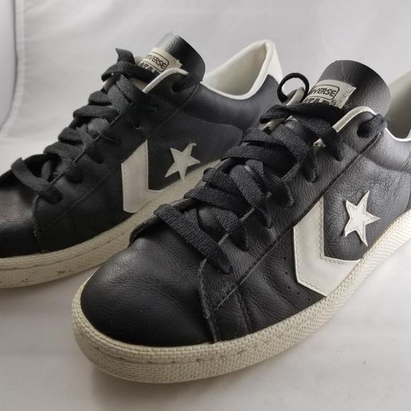 Vintage Converse Pro Star Black   White ddf48dd1f